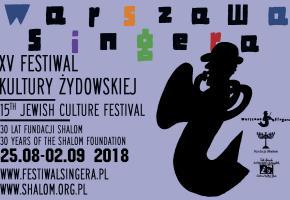 Warszawa. XV Festiwal Kultury Żydowskiej – Warszawa Singera