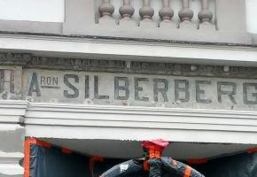 14.03.2016 – Will Aron Silberberg's ad be covered with plaster again?