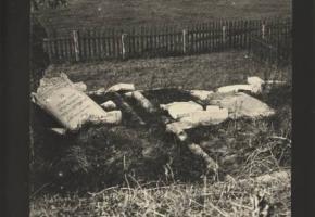 Dąbrówno: Jewish cemetery in Dąbrówno (Ogrodowa Street)