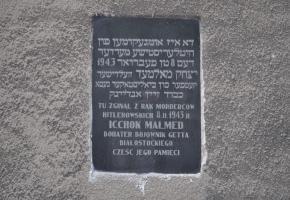 Ulica Malmeda - miejsce publicznych egzekucji z czasów Zagłady