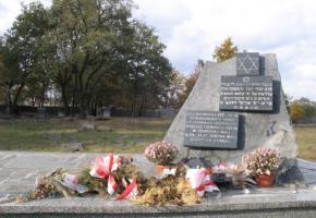 Pomnik na cmentarzu żydowskim