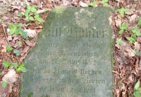 Jewish cemetery in Trzemeszno Lubuskie (about 100 m south of the village, located by the path headed towards the nearby forest).
