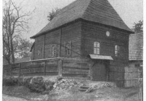 Synagoga w Cieszowej (ul. Kasztanowa)