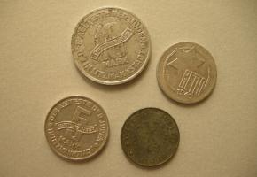 Monety z getta w Muzeum POLIN w Warszawie