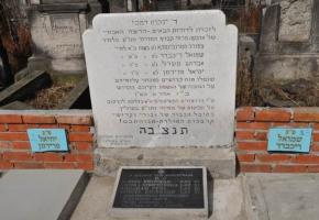Cmentarz żydowski – grób ofiar napadu dokonanego 28.02.1946 r.