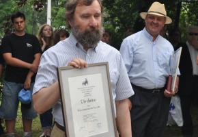 04.07.2012 – medal Vir Bonus dla Włodzimierza Kaca