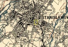 Stary cmentarz żydowski w Stanisławowie (wuł. Nezałeżnosti)