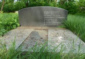 Las Czółno - miejsce egzekucji
