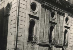 Zdjęcia synagogi w Muzeum Piastów Śląskich w Brzegu