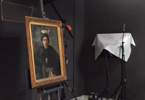Warszawa. Odnaleziony po latach obraz trafił do Muzeum POLIN