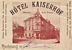Hotel Kaiserhof w Katowicach (ul. Stawowa 19)