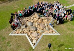 Skoki. Official ceremony at the Jewish cemetery