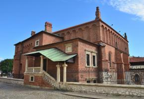 קרקוב. תערוכה על תולדות בית הכנסת העתיק