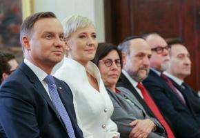 אות הכבוד הגבוה ביותר של הרפובליקה הפולנית מוענק לפרופסור שבח וייס