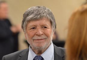 Łódź: Szewach Weiss Awarded the Peace Prize