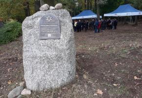 Tuszyn. Ceremonia na cmentarzu żydowskim - relacja
