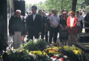 Warszawa. Obchody 75. rocznicy samobójczej śmierci Zygielbojma
