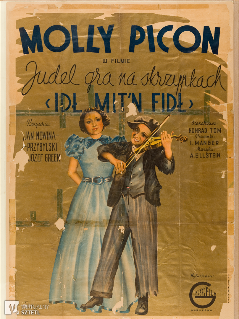 """Molly Picon in """"Yiddle With His Fiddle"""" 