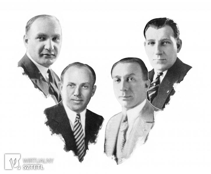 Bracia Warner (Warner Brothers), ok. 1925 r.