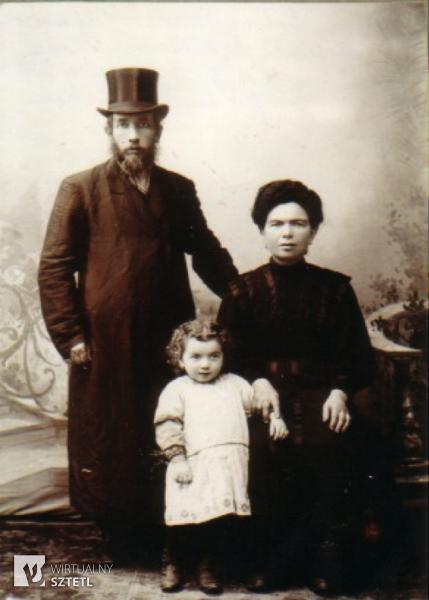 Orla. Abraham Jakub Skareszewski, Rochel Gutka z domu Riszelewska.