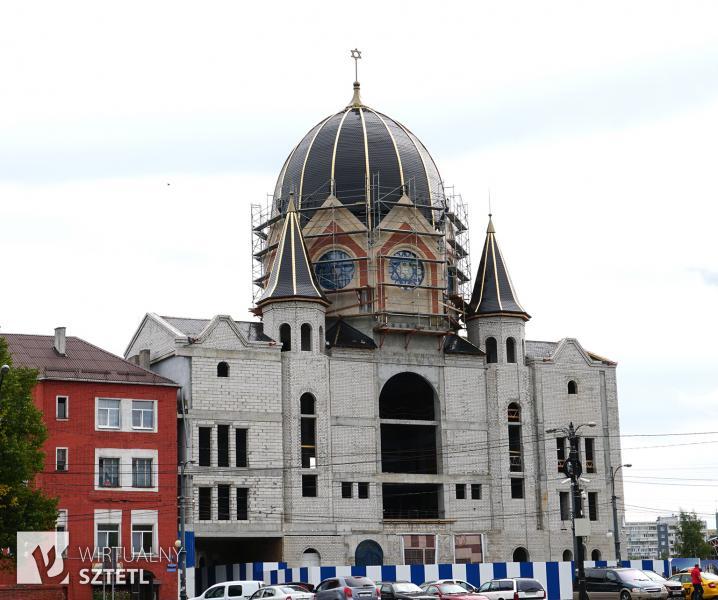 Królewiec. Nowa Synagoga w sierpniu 2018 roku.