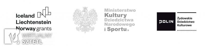 Stopka z logo fundatorów ŻDK II