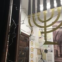 Gdańsk. Atak na nową synagogę we Wrzeszczu