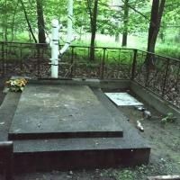 Konin, Rudzica. Devastated memorial site dedicated to the victims of the Holocaust